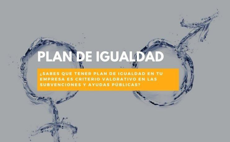 Plan de igualdad subvenciones