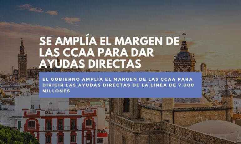 CCAA ayudas