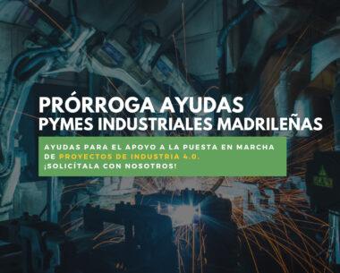 ayudas empresas industriales madrid