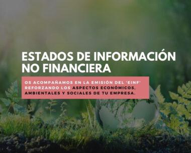 Estados de información no financiera