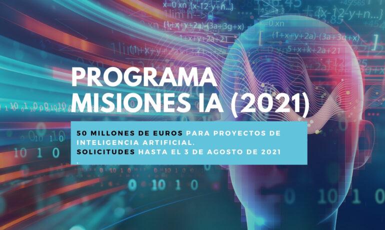 Misiones IA ayudas España