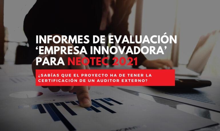 Neotec empresa innovadora 2021