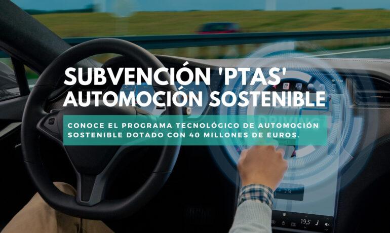 cdti Automoción sostenible ayudas
