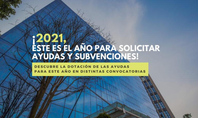 2021 ayudas y subvenciones empresas